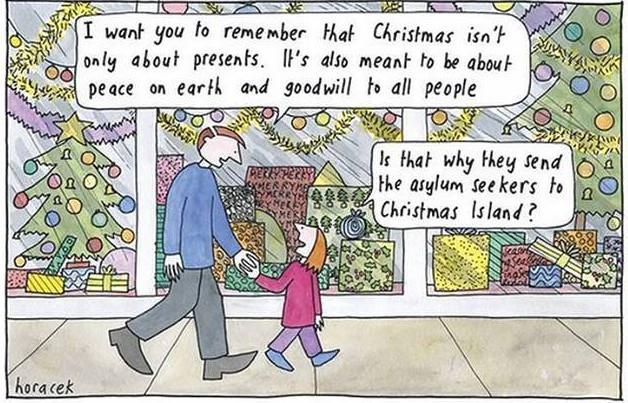 Christmas where?