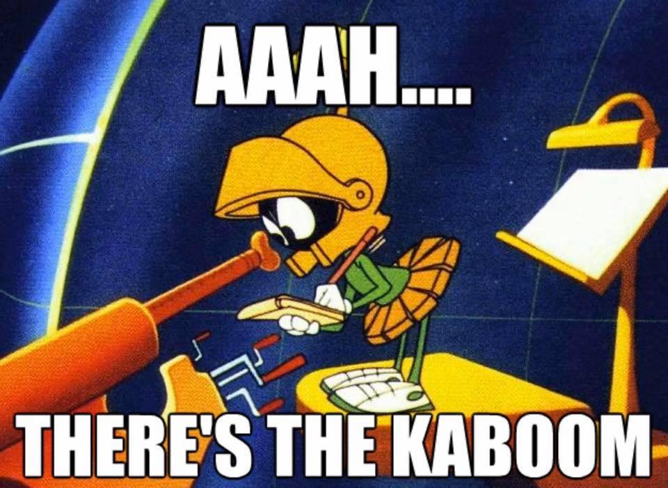 The KABOOM found!